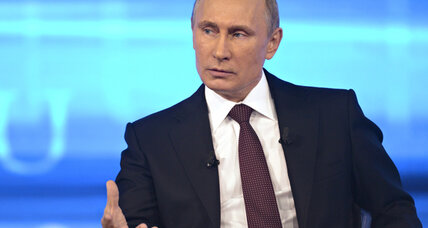 Would Obama save Putin from drowning? Putin says yes.