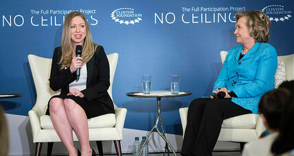 Chelsea Clinton announces she's pregnant at event for empowering girls