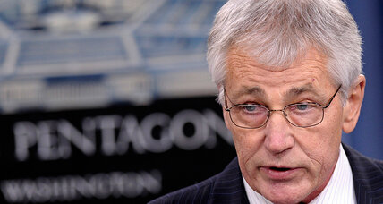 Ukraine crisis: US boots on the ground in Poland is an option, Hagel says
