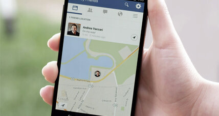 'Nearby Friends' helps find Facebook users in the real world