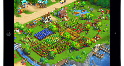Zynga goes mobile with new FarmVille 2 app