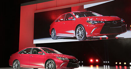 Toyota Camry for 2015 unveiled at New York Auto Show