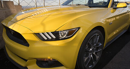 2015 Mustang debuts atop the Empire State Building