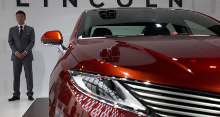 Ford launches Lincoln brand in China