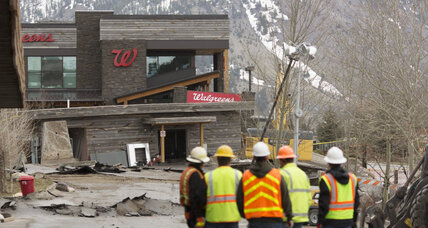 Jackson Hole landslide slowly swallows Wyoming town
