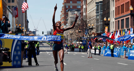 Rita Jeptoo, Keflezighi's historic Boston Marathon wins