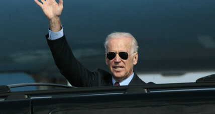 Why Vice President Biden is visiting embattled Ukraine now