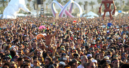 Coachella's young audience attracts marketing maelstrom