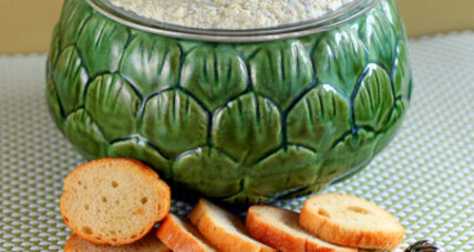 A new twist for artichoke dip