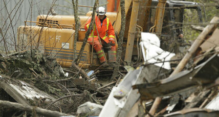 When Obama visits mudslide area in Oso, Wash., what will he find? (+video)