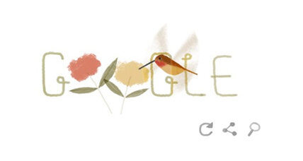Google celebrates Earth Day with Rufous hummingbird, dung beetle, and more