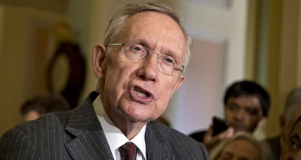 Invoking 'Fire Pelosi' from 2010, GOP takes on Harry Reid. Will it work?