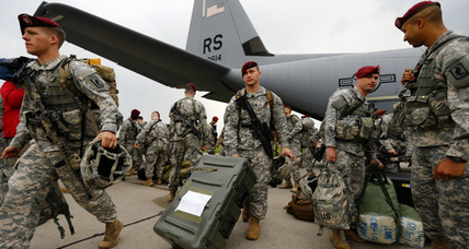 US troops arriving in Eastern Europe. Is it more than symbolic?