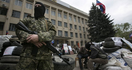 Ukraine standoff: For some, Russia's tactics hark back to Soviet practices (+video)
