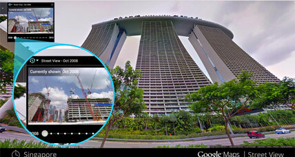 Google Street View heads back in time