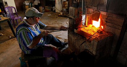 Breathing new life into Lebanon's ancient art of glassblowing