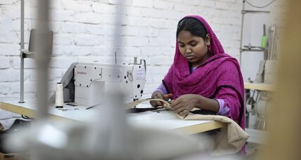 Why Bangladesh's Rana Plaza survivors are back at work (+video)
