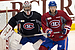 Montreal Canadiens play mock game as they wait for next round