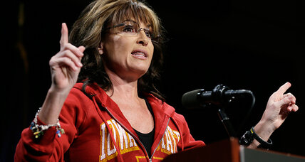Sarah Palin says 'waterboarding is how we baptize terrorists.' Too tough?