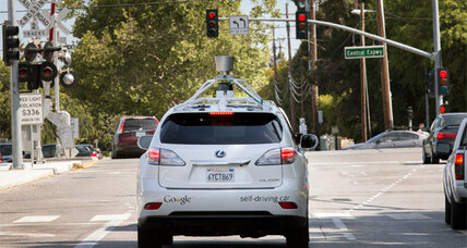Google's self-driving cars cruise on to city streets