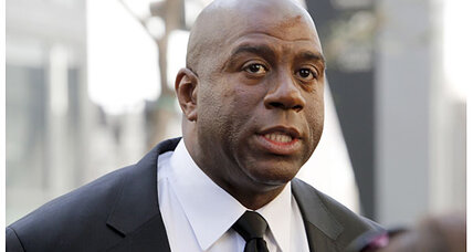 Should Donald Sterling give up Clippers? Magic Johnson could step in.