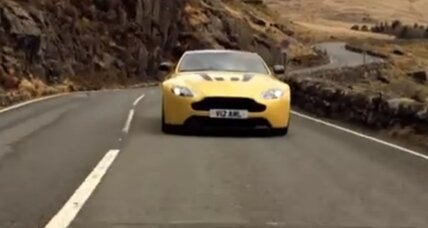 Aston Martin teaser: V12 Vantage S with 200-plus speed