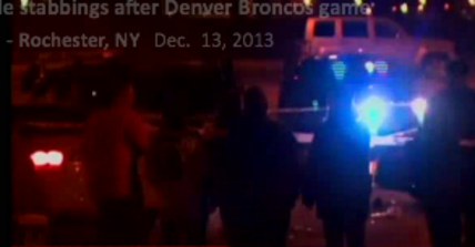 Broncos game: Stabbings in stadium parking lot