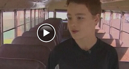 Seventh grader steers bus to safety in Washington (+video)