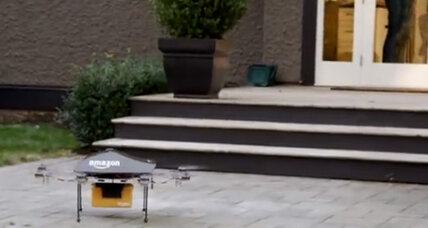 Rise of the commercial drone: It's a bird! It's a plane! It's a ... pizza? (+video)