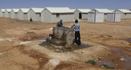 UN hopes its second Syrian refugee camp in Jordan gets it right (+video)