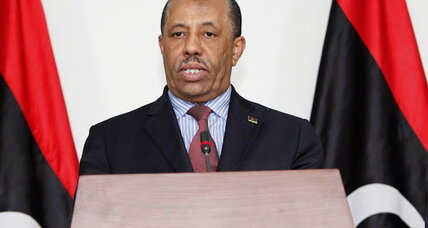 Libya's PM to step down after gunmen allegedly target his family