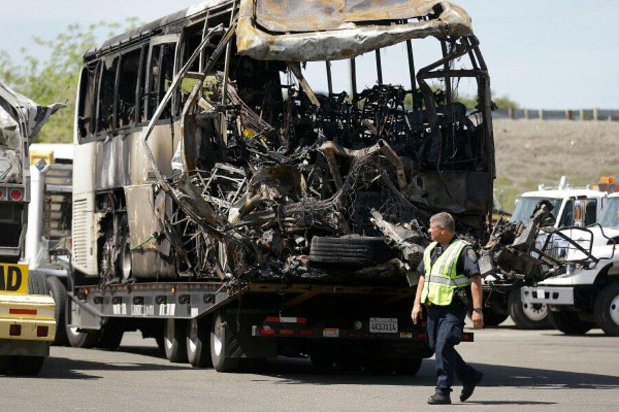 California fatal bus crash: Was FedEx truck cargo involved