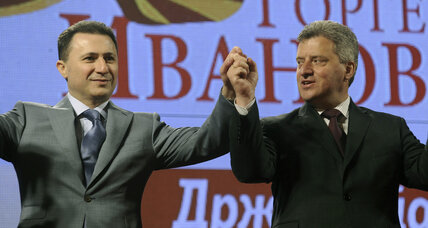 Macedonia's Gruevski looks set for double election win, but...