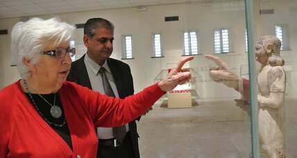 Overcoming looting and years of war, Iraq Museum moves to reopen