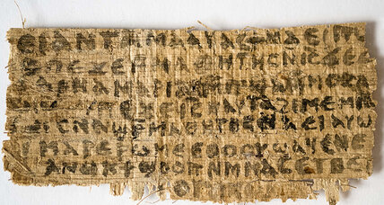 Tests reveal papyrus fragment dubbed 'Gospel of Jesus's Wife' is 'ancient'