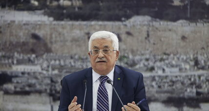 Does Palestinian leader's surprise move signal end of Mideast peace talks?