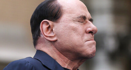 Berlusconi gets senior center community service for tax fraud sentence