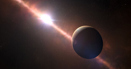 Astronomers see alien planet where a 'day' lasts just eight hours