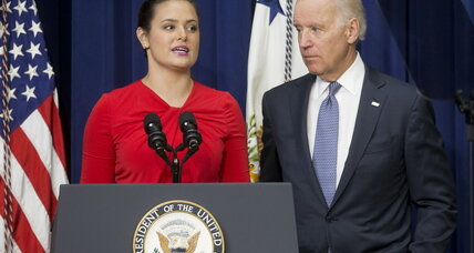 Sexual assault on campus: 'No more turning a blind eye' to it, Biden says