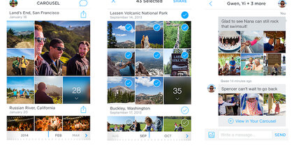Carousel: Meet Dropbox's new standalone photo-sharing app