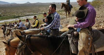 Nevada range fight revives 'Sagebrush Rebellion'