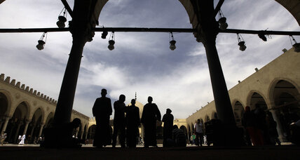 Islam, scripted: Egypt reins in Friday sermons at mosque
