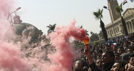 Safe in exile, Egypt's Muslim Brotherhood leaders now risk irrelevance (+video)