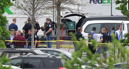 FedEx shooting: Employee wounds six, then kills himself at FedEx sorting center