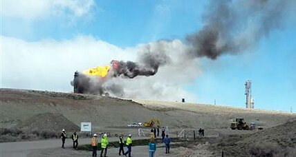 Wyoming explosion: Natural gas purification plant rocked