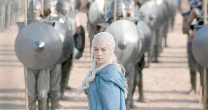 'Game of Thrones' title 'Khaleesi' rises in popularity as baby name (+video)