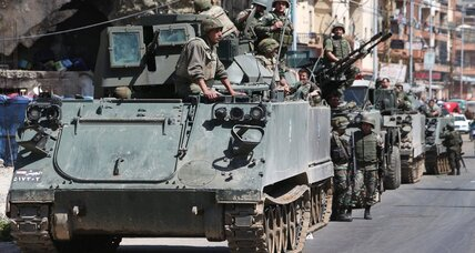 Fighting Syria spillover, Lebanese troops deploy in Bekaa Valley