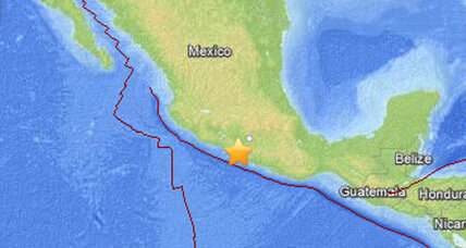 Magnitude 7.5 earthquake strikes southern Mexico