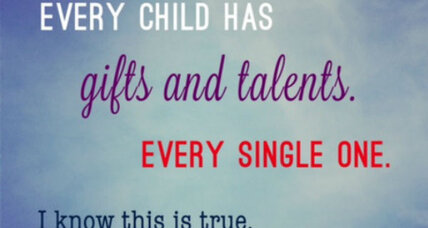 Your child is gifted