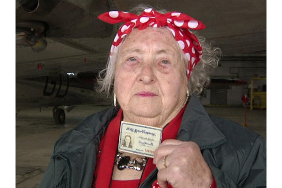 Rosie The Riveter Factory Preserves Womens History Csmonitor